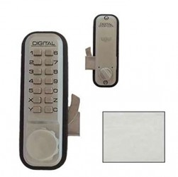 Lockey Usa 2500 Sn Mechanical Keyless Hook Bolt Sliding