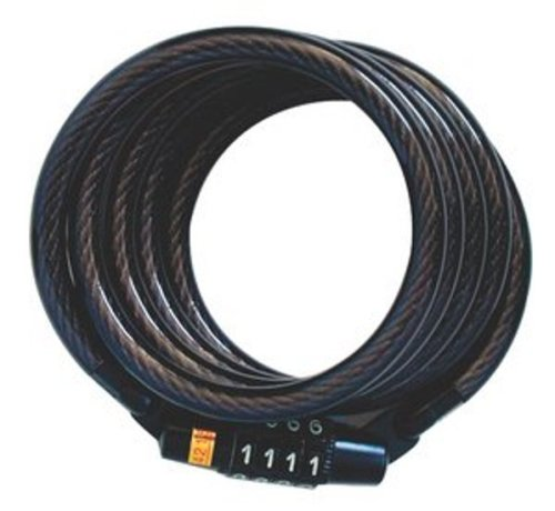Master Lock 8143d Self Coiling Cable Lock 4 Feet X 5 16