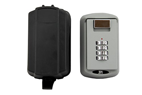 Realtor Key Lock Box Safe Vault With Free Waterproof Cover