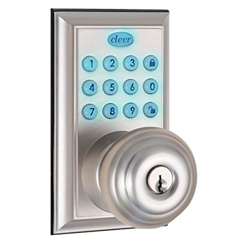 Clevr Indoor Outdoor Electronic Keypad Keyless Entry